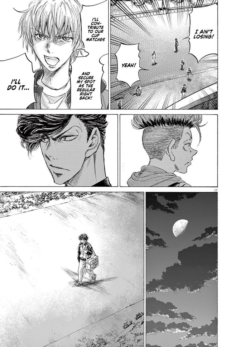 Ao Ashi Vol.21 Chapter 212: Ashito's Situation page 17 - Mangakakalots.com