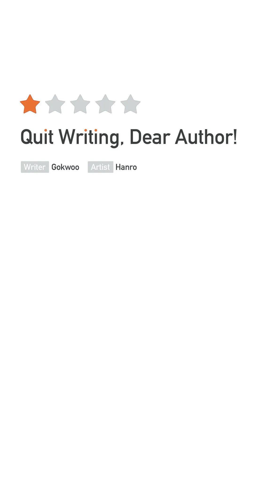 Quit Writing, Dear Author! Chapter 51 page 3 - Mangakakalots.com