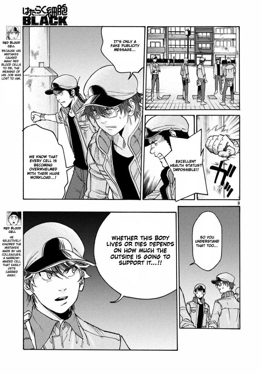 Hataraku Saibou Black Chapter 28: Pancreas, Fraud, Inferno page 9 - Mangakakalots.com