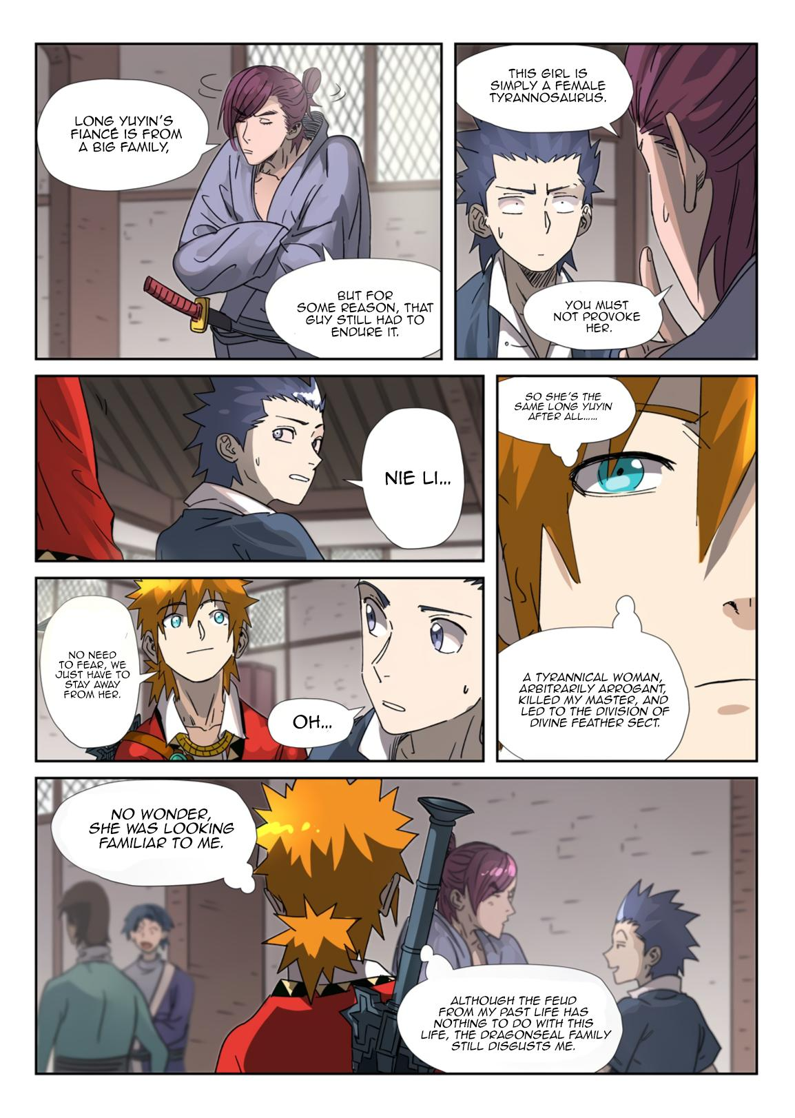Tales Of Demons And Gods Chapter 306.1 page 8 - Mangakakalots.com