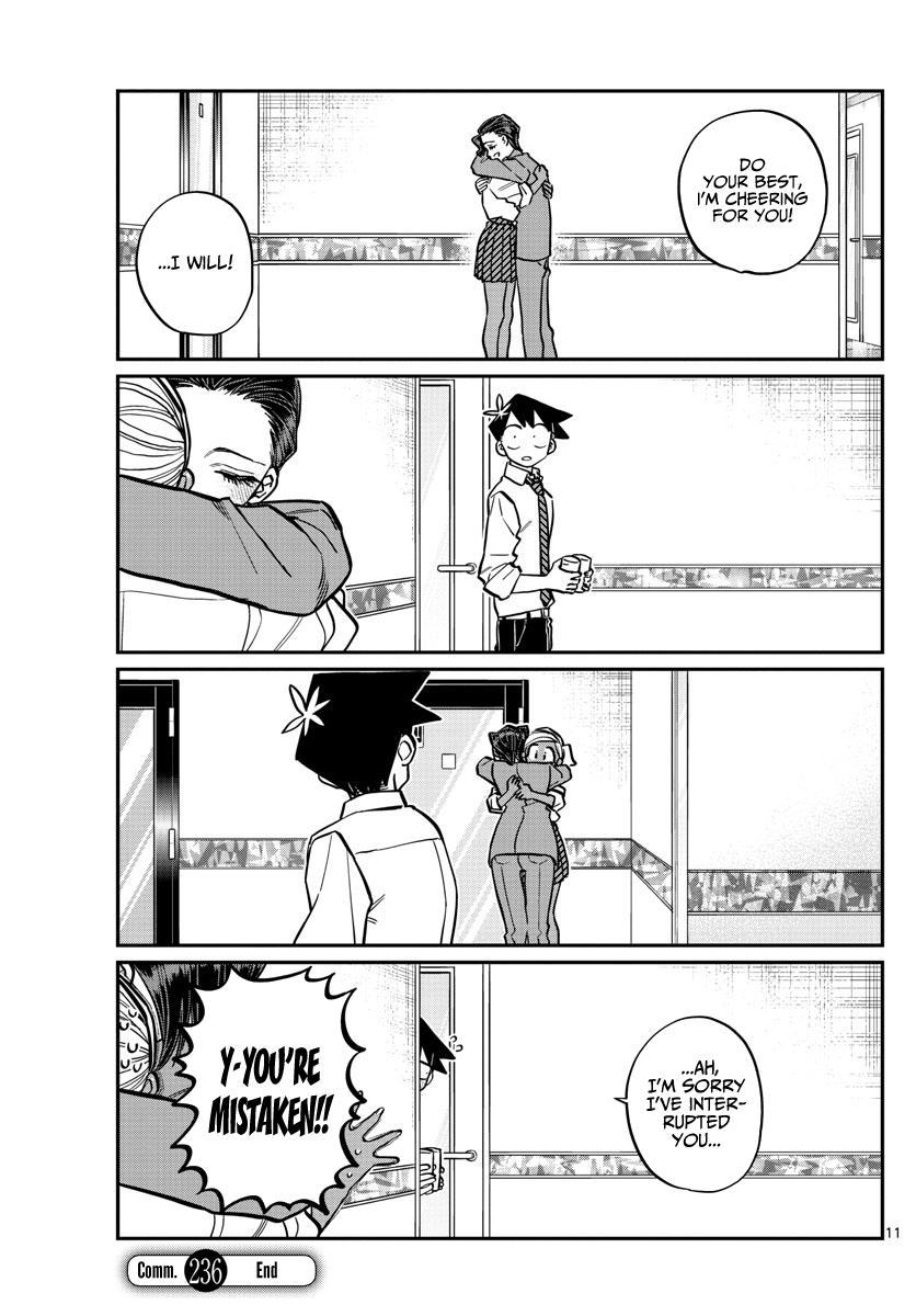Komi-San Wa Komyushou Desu Chapter 236: The After Afterparty page 11 - Mangakakalot