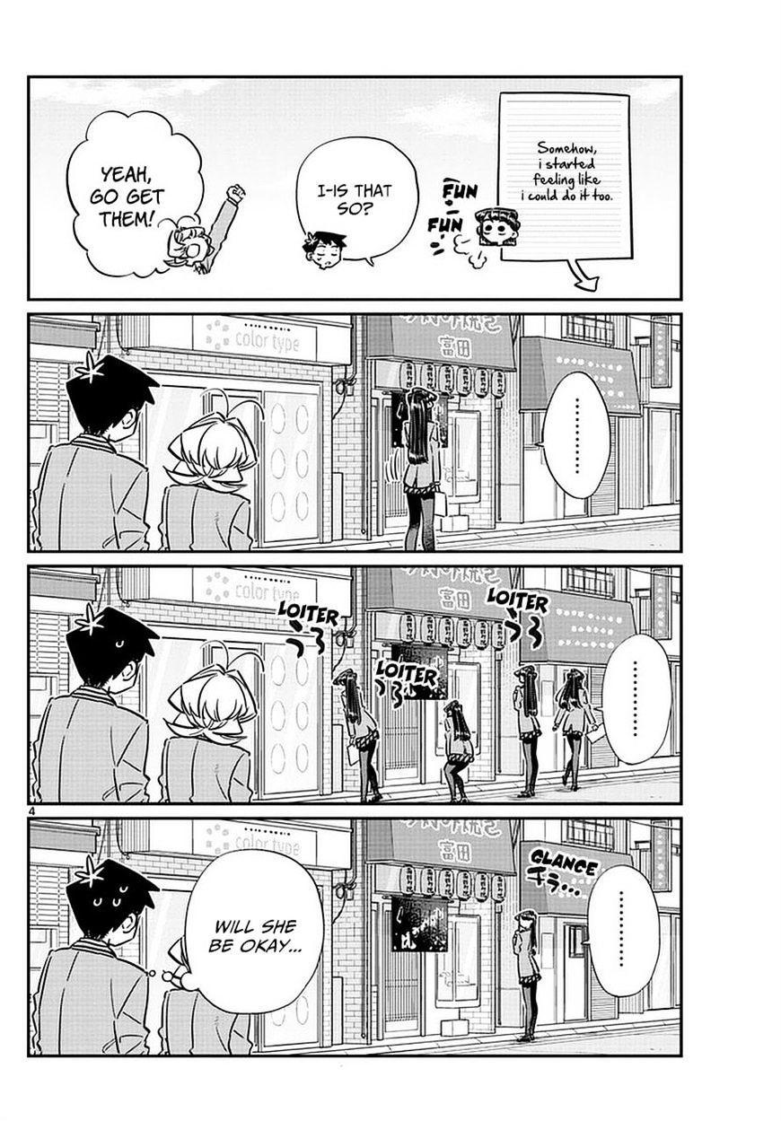 Komi-San Wa Komyushou Desu Vol.5 Chapter 65: Flier Distribution page 4 - Mangakakalot
