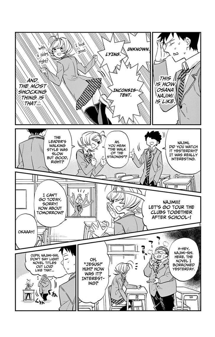 Komi-San Wa Komyushou Desu Vol.1 Chapter 9: Childhood Friend page 5 - Mangakakalot