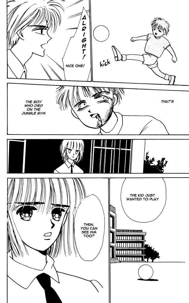 Shi To Kanojo To Boku Vol.1 Chapter 1 : The Girl Who Could See The Dead page 20 - Mangakakalots.com