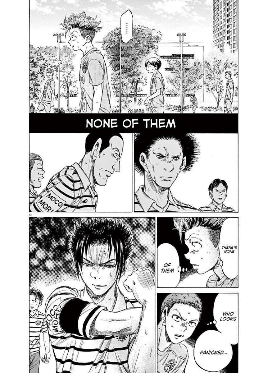 Ao Ashi Vol.10 Chapter 95: Direct Football page 23 - Mangakakalots.com