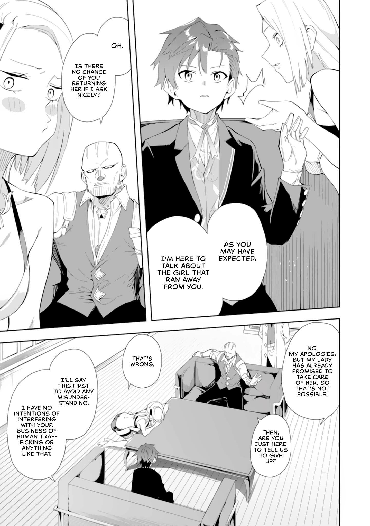 Akuyaku Reijou No Shitsuji-Sama Hametsu Chapter 5.1: Dark Guild page 9 - Mangakakalots.com
