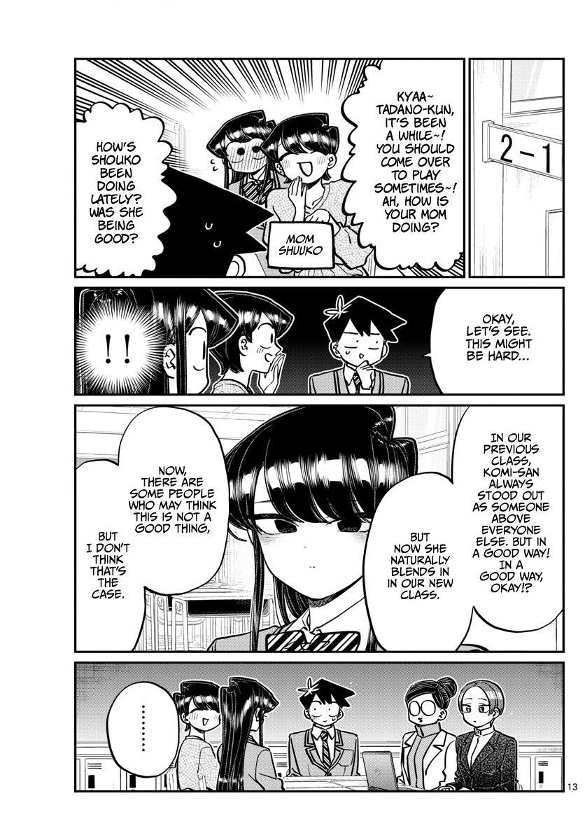 Komi-San Wa Komyushou Desu Chapter 256: Career Counseling page 13 - Mangakakalot