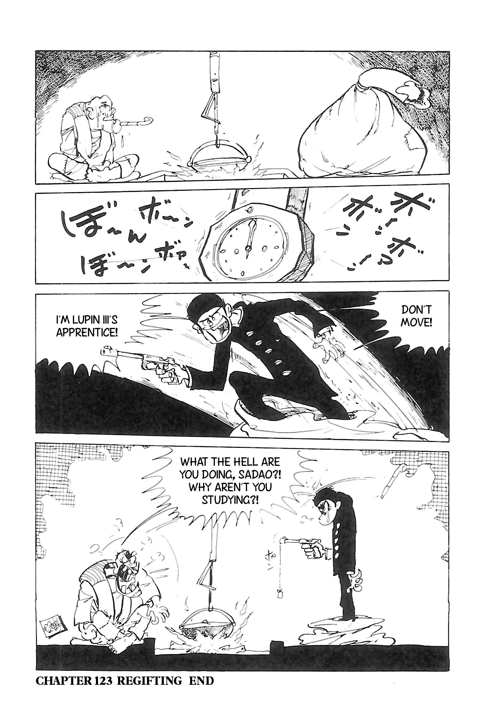 Lupin Iii: World'S Most Wanted Vol.11 Chapter 123: Regifting page 17 - Mangakakalots.com