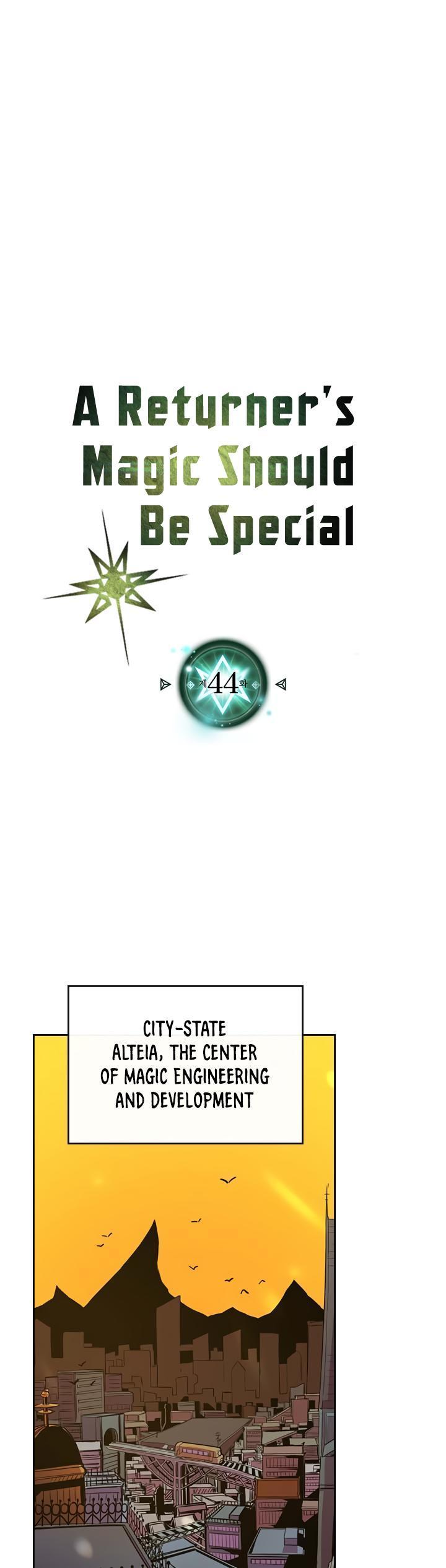 A Returner's Magic Should Be Special Chapter 44 page 1 - Mangakakalots.com