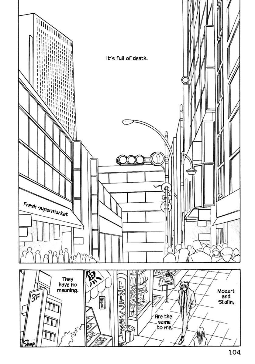 Shi To Kanojo To Boku Chapter 4 page 19 - Mangakakalots.com