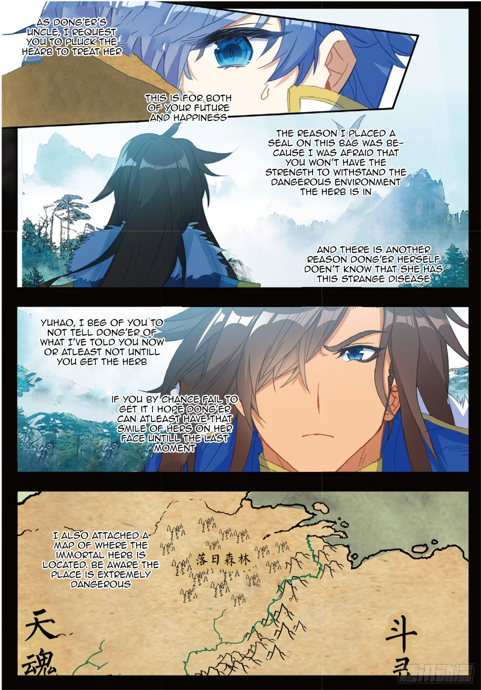 Douluo Dalu Ii - Jueshui Tangmen Chapter 283 page 6 - Mangakakalot