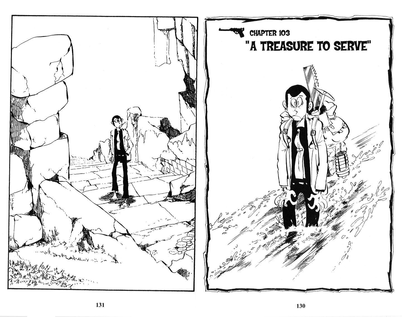 Lupin Iii Vol.13 Chapter 103: A Treasure To Serve page 1 - Mangakakalots.com