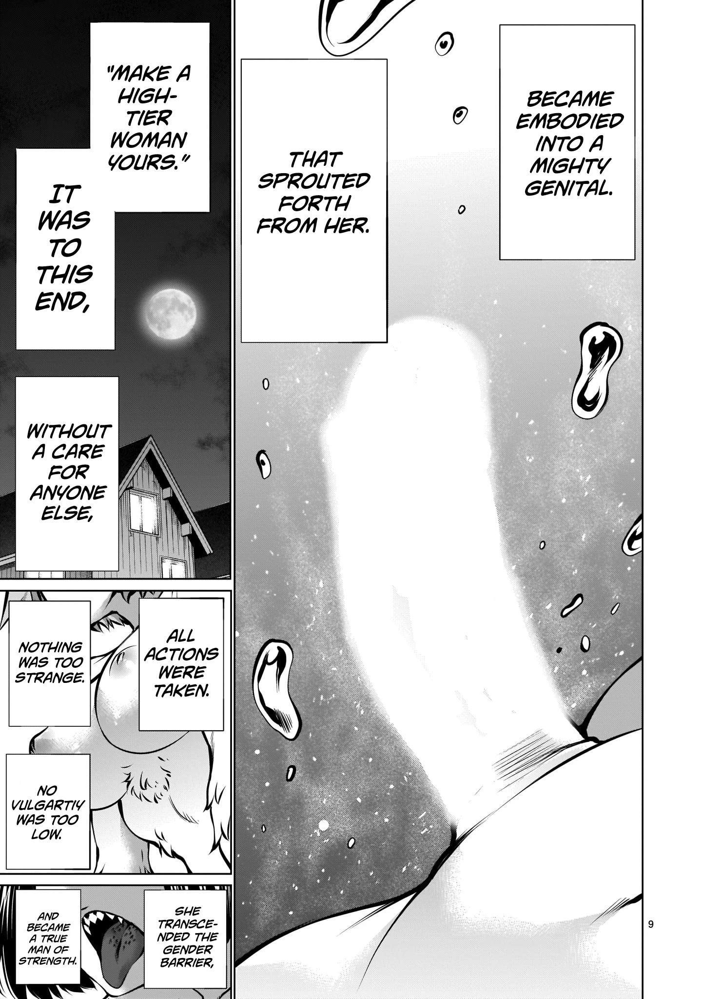 "Killing Bites Chapter 87: ""you Are Not A Warrior"" page 9 - Mangakakalots.com"