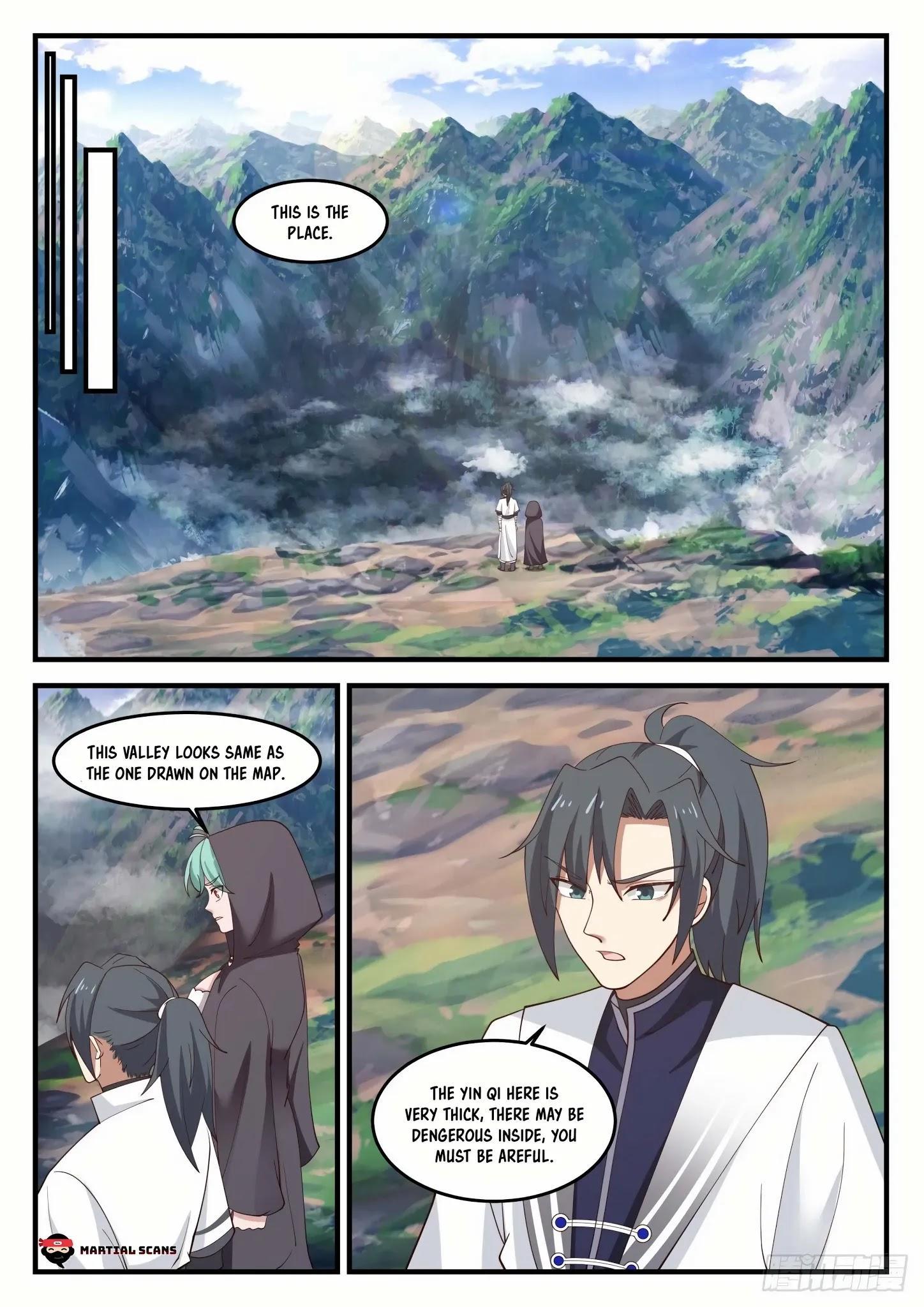 Martial Peak Chapter 1190: Who Is Su Yan? page 12 - Mangakakalots.com