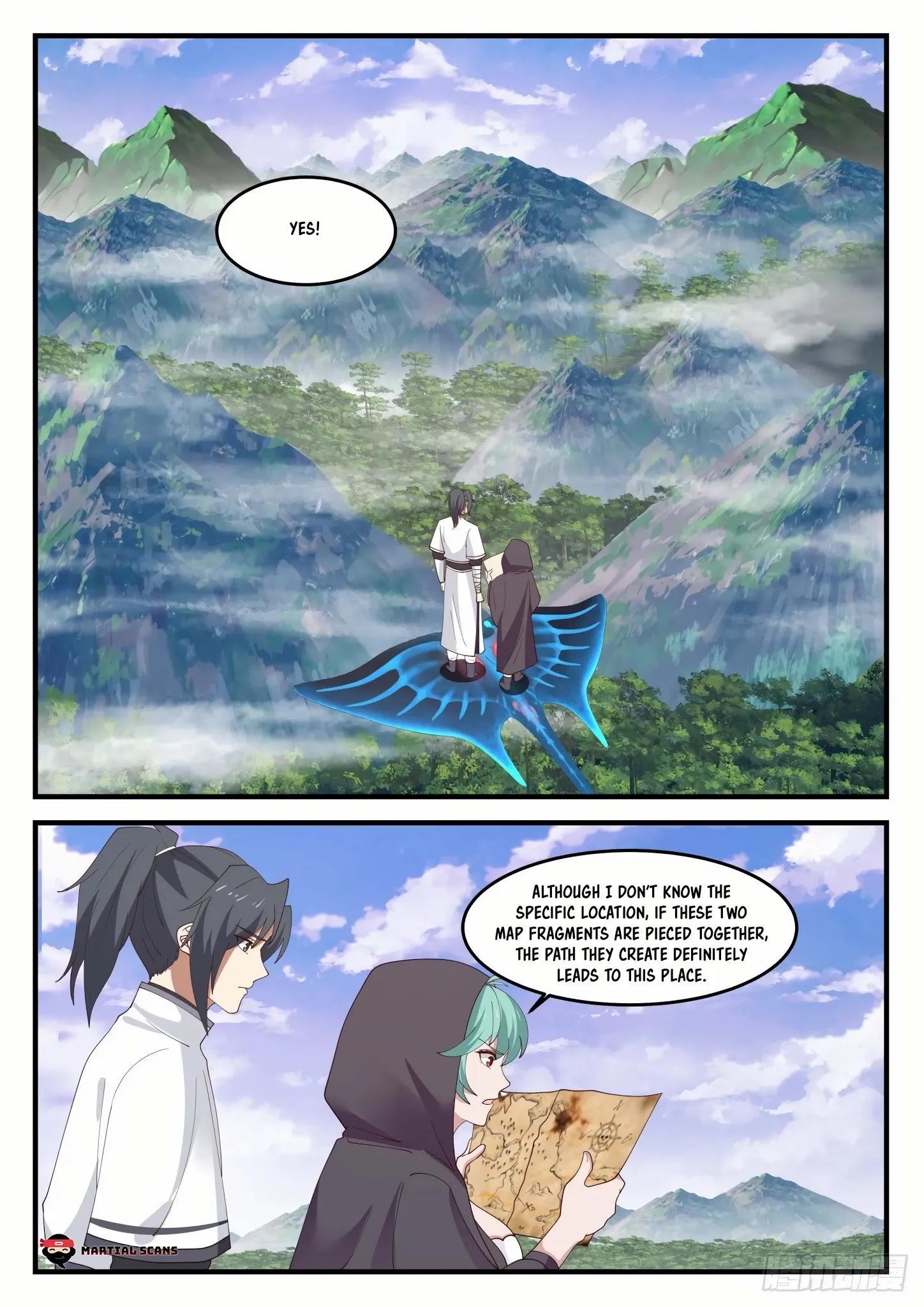 Martial Peak Chapter 1190: Who Is Su Yan? page 10 - Mangakakalots.com