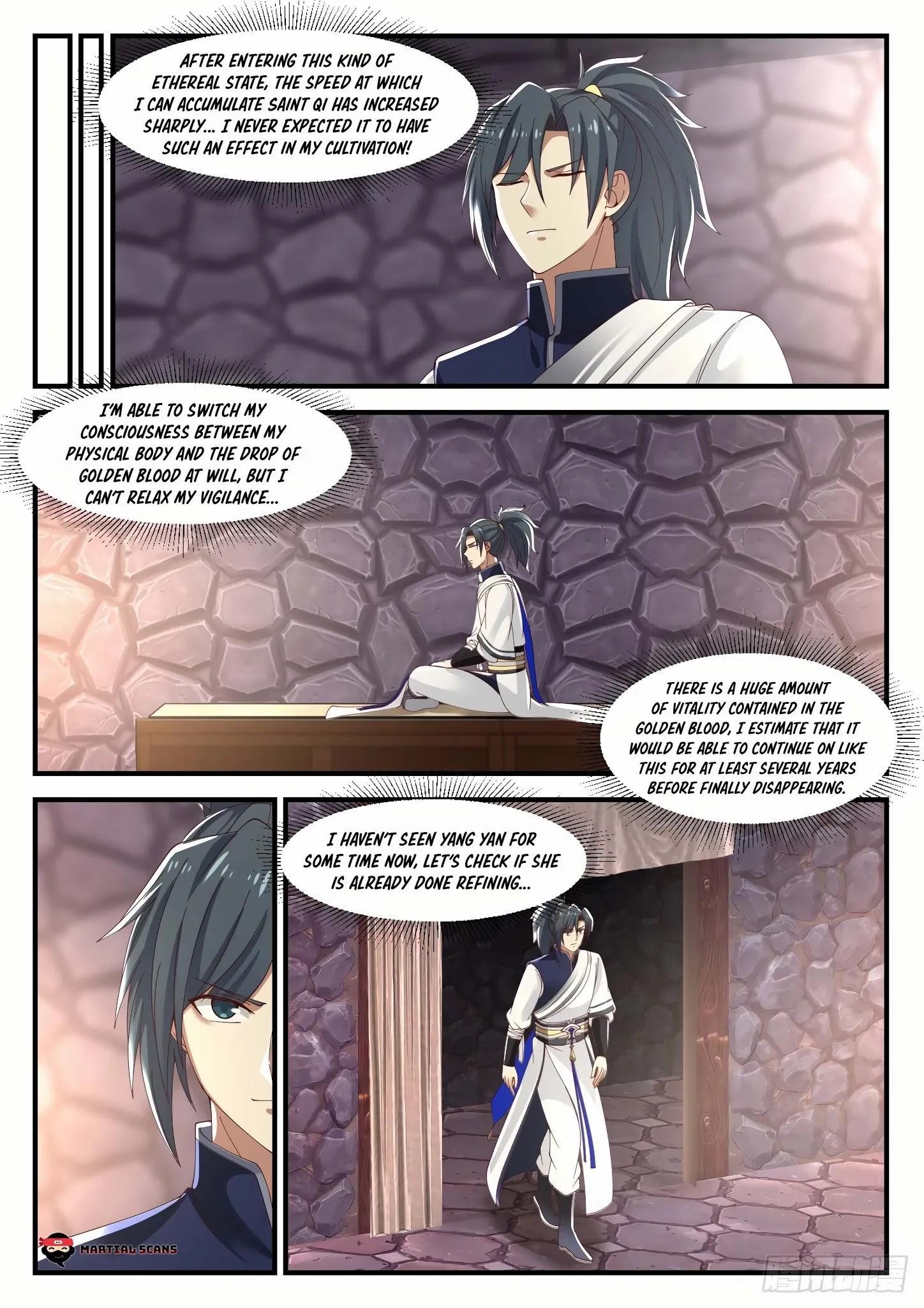 Martial Peak Chapter 999: He Came Again page 4 - Mangakakalots.com