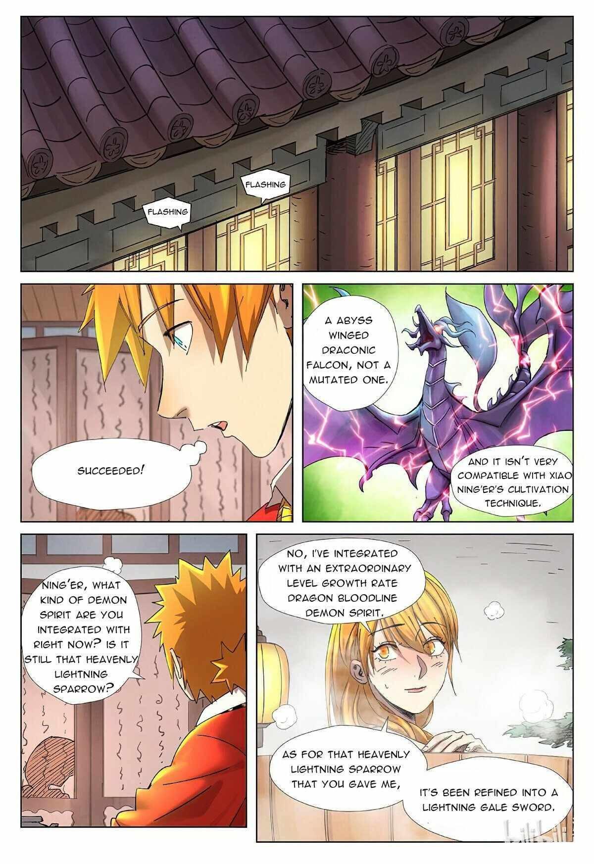 Tales Of Demons And Gods Chapter 343.5 page 7 - Mangakakalot
