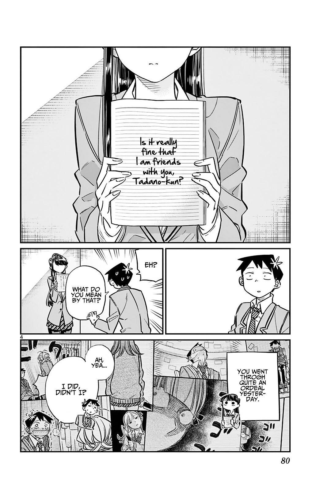 Komi-San Wa Komyushou Desu Vol.2 Chapter 26: I'm Ren! 4 page 4 - Mangakakalot