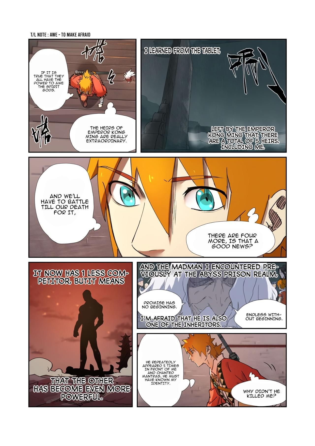 Tales Of Demons And Gods Chapter 281.5 page 2 - Mangakakalots.com