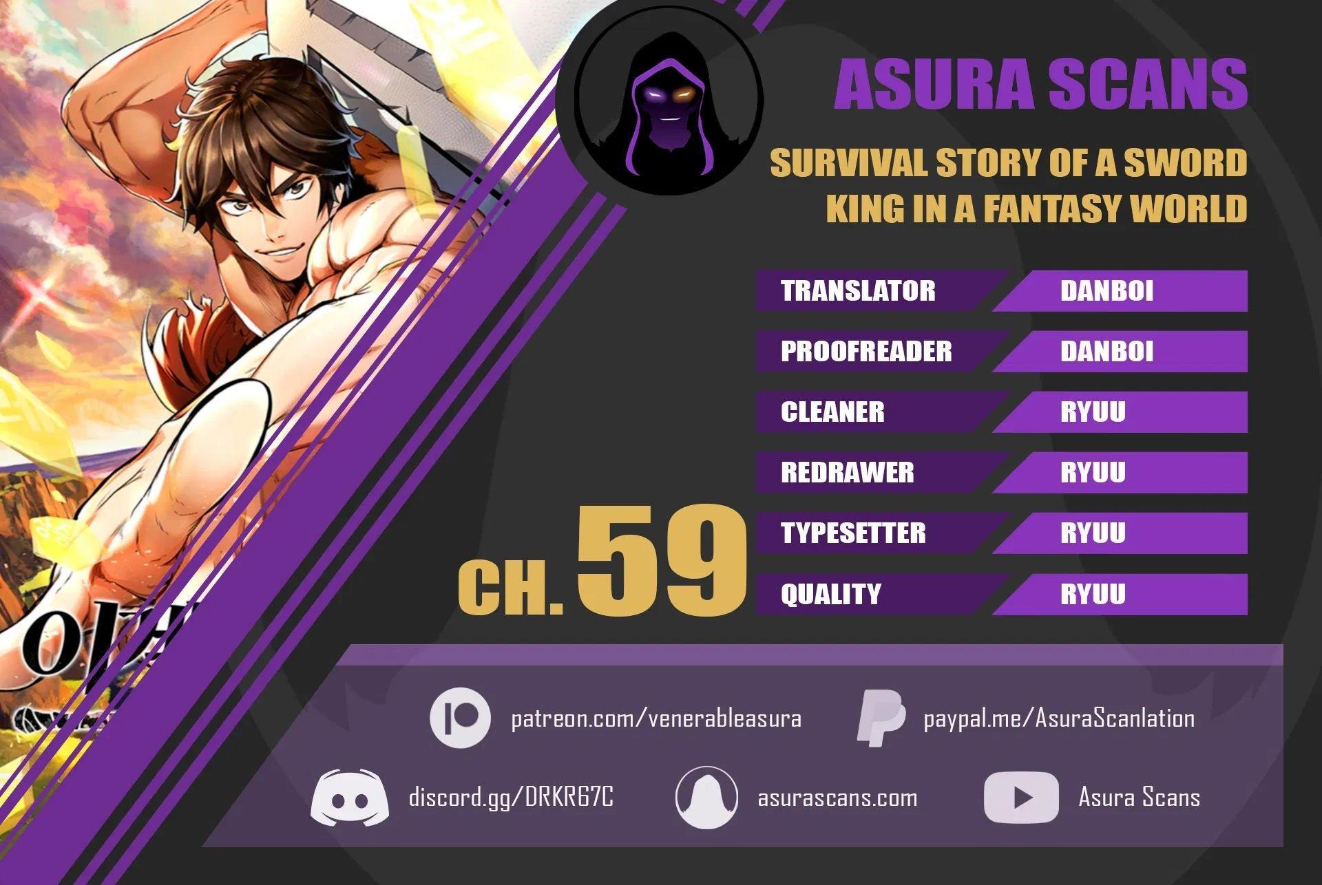 Survival Story Of A Sword King In A Fantasy World Chapter 59 page 1 - Mangakakalots.com