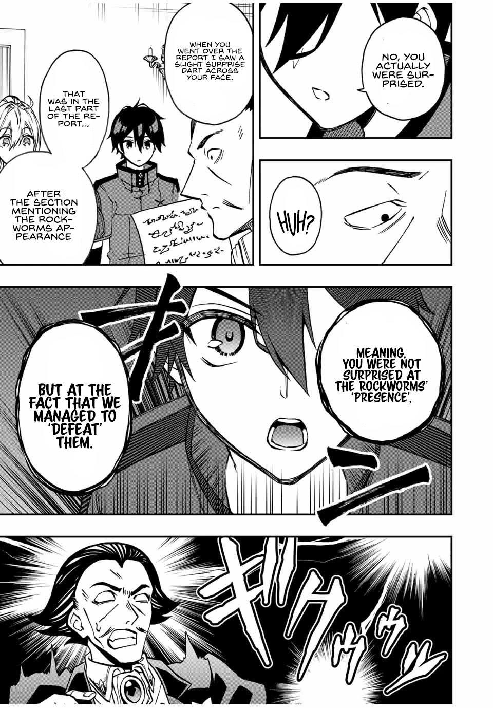 The Reincarnated Inferior Magic Swordsman Chapter 35 page 12 - Mangakakalots.com