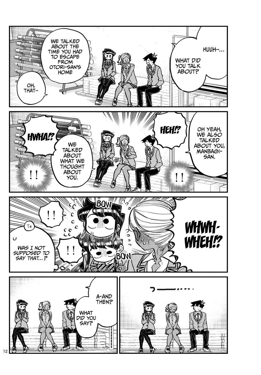 Komi-San Wa Komyushou Desu Chapter 255: Pocket Heater page 12 - Mangakakalot