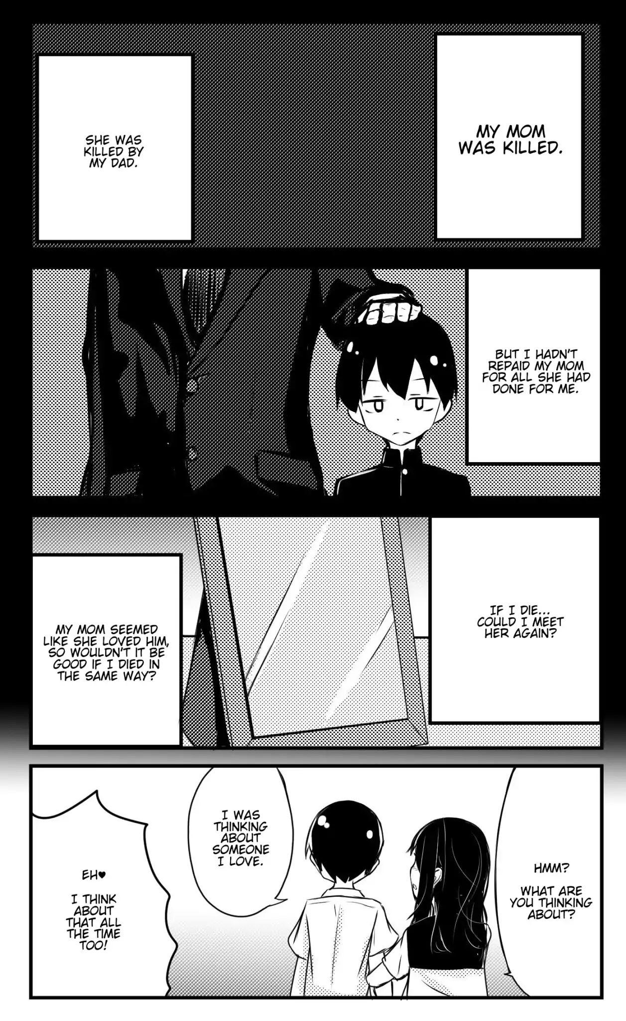 A Story About Wanting To Commit Suicide, But It's Scary So I Find A Yandere Girl To Kill Me, But It Doesn't Work Chapter 7 page 1 - Mangakakalots.com