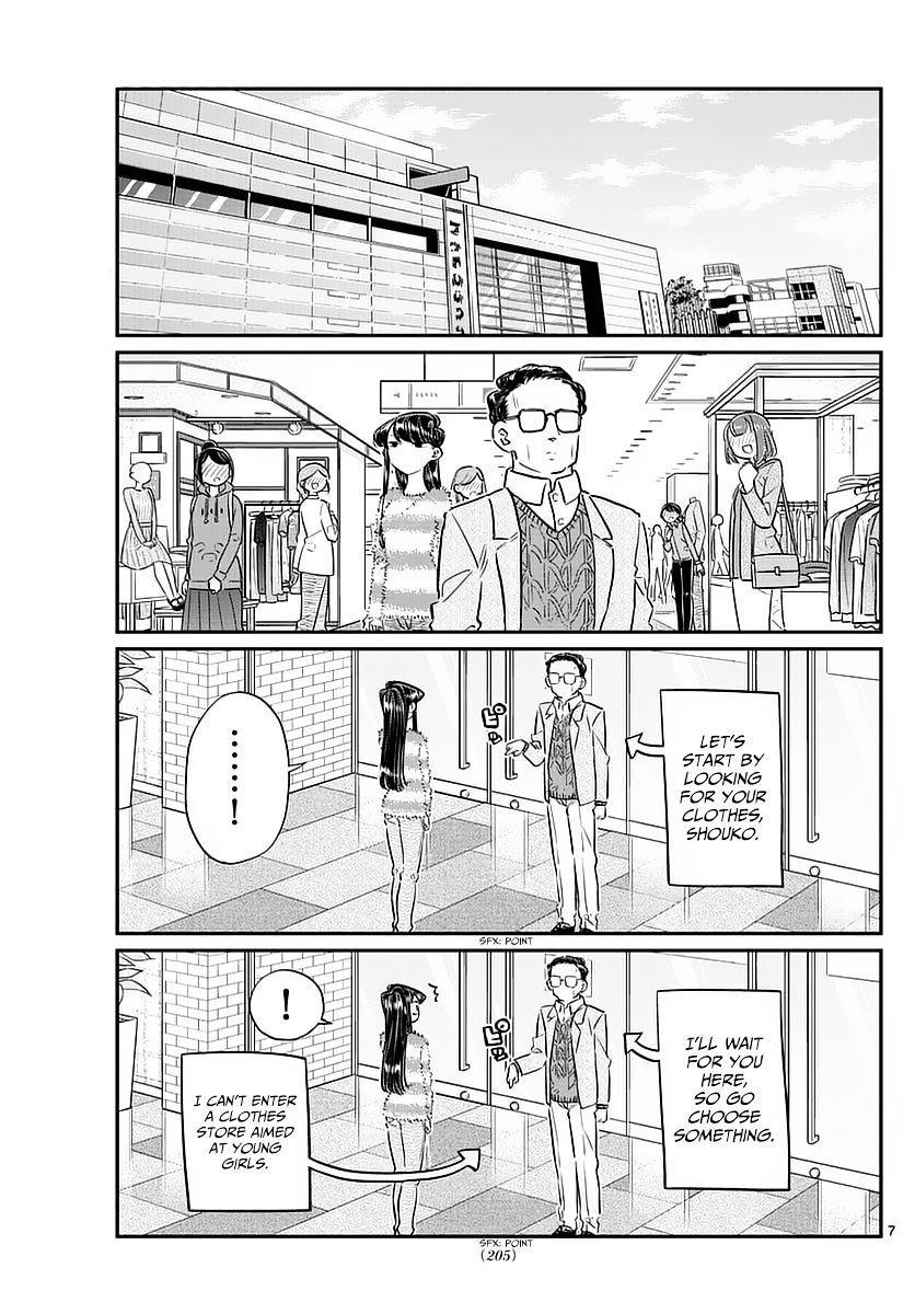 Komi-San Wa Komyushou Desu Vol.6 Chapter 74: Shopping With Dad page 7 - Mangakakalot