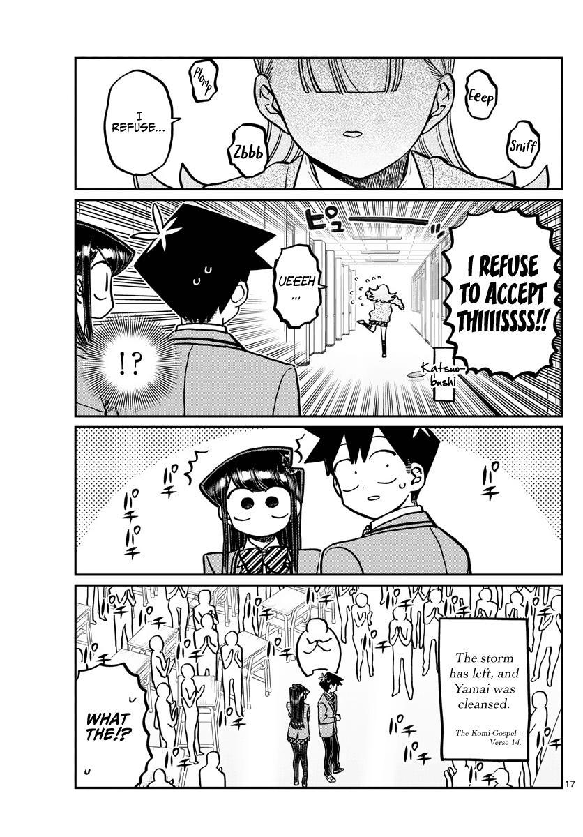 Komi-San Wa Komyushou Desu Chapter 306: Reaction page 17 - Mangakakalot