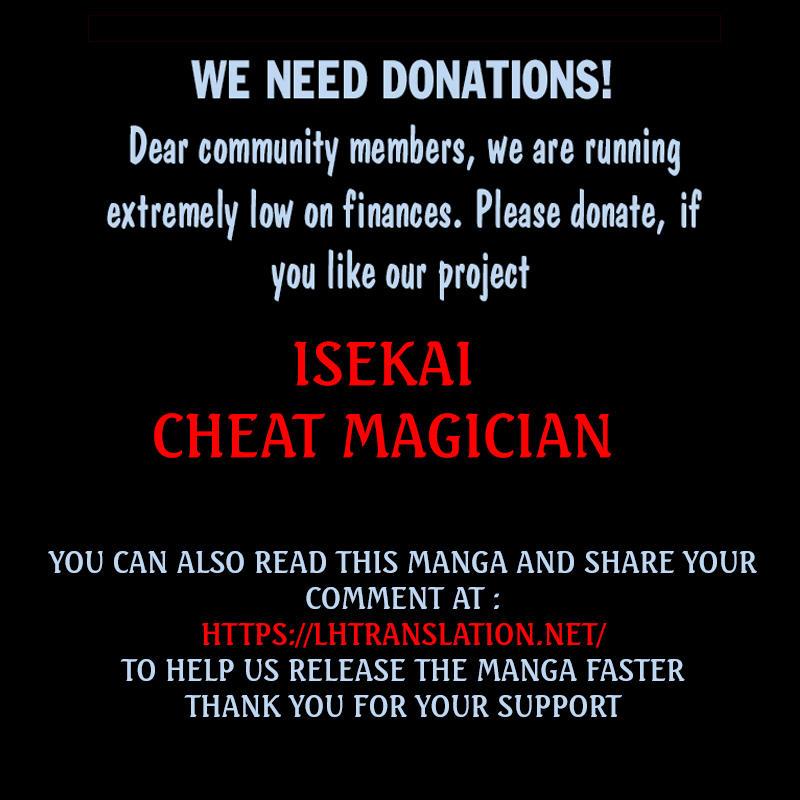 Isekai Cheat Magician Chapter 30 page 31 - Mangakakalots.com