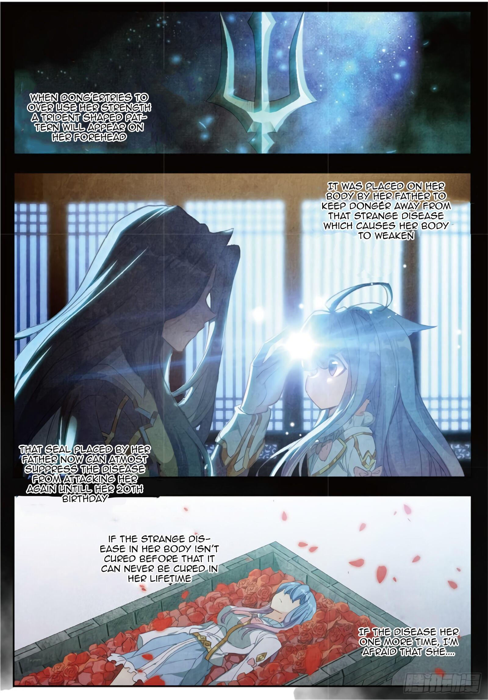 Douluo Dalu Ii - Jueshui Tangmen Chapter 283 page 3 - Mangakakalot