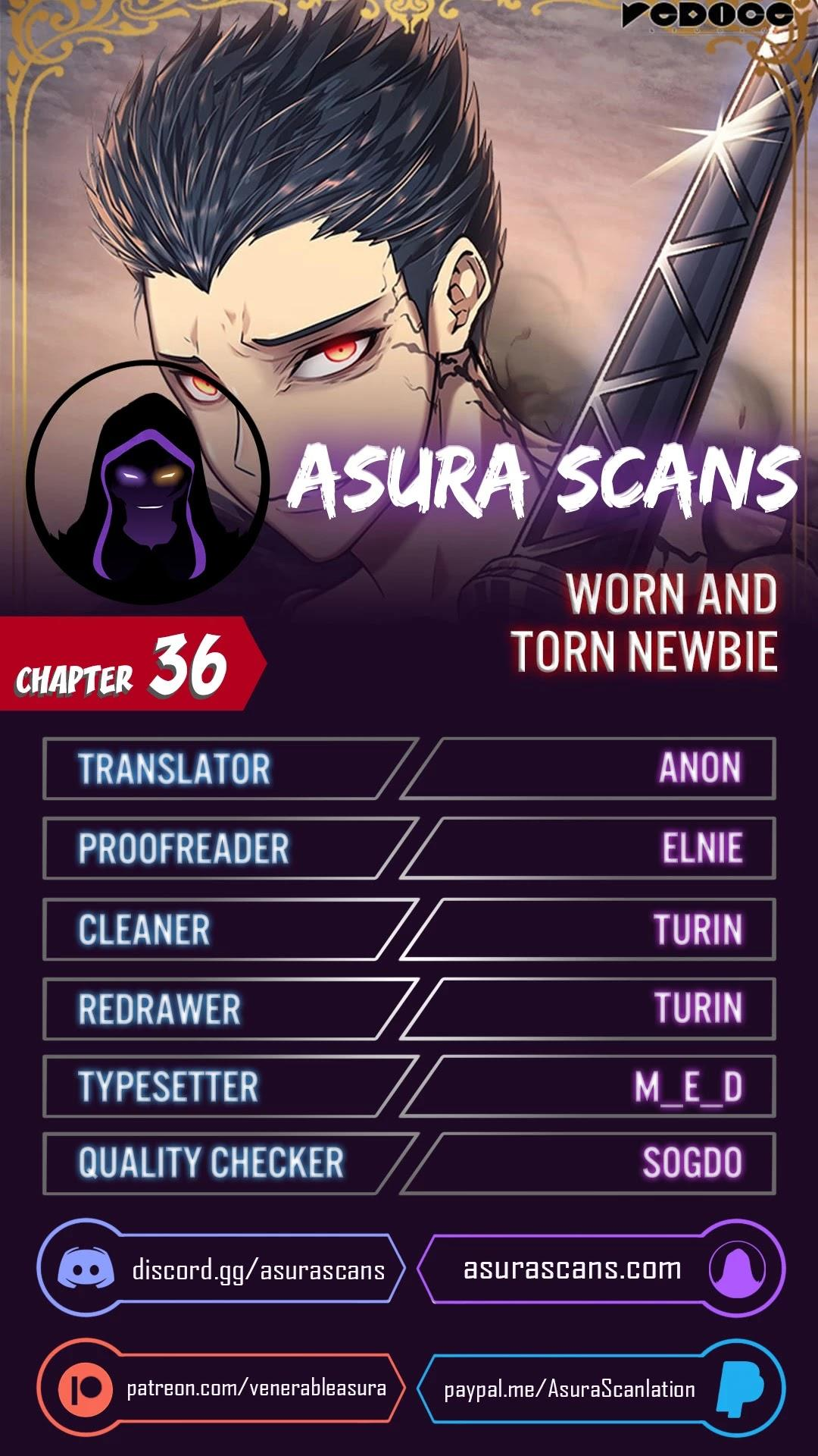 Worn And Torn Newbie Chapter 36 page 1 - Mangakakalots.com