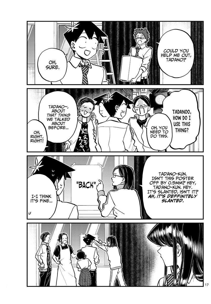 Komi-San Wa Komyushou Desu Chapter 238: Looking Back At The Festival page 17 - Mangakakalot