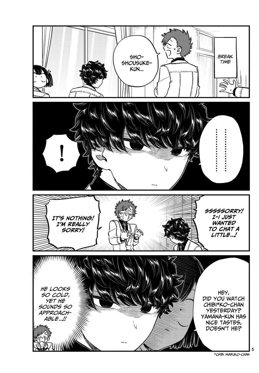 Komi-San Wa Komyushou Desu Vol.10 Chapter 143: Soccer page 5 - Mangakakalot