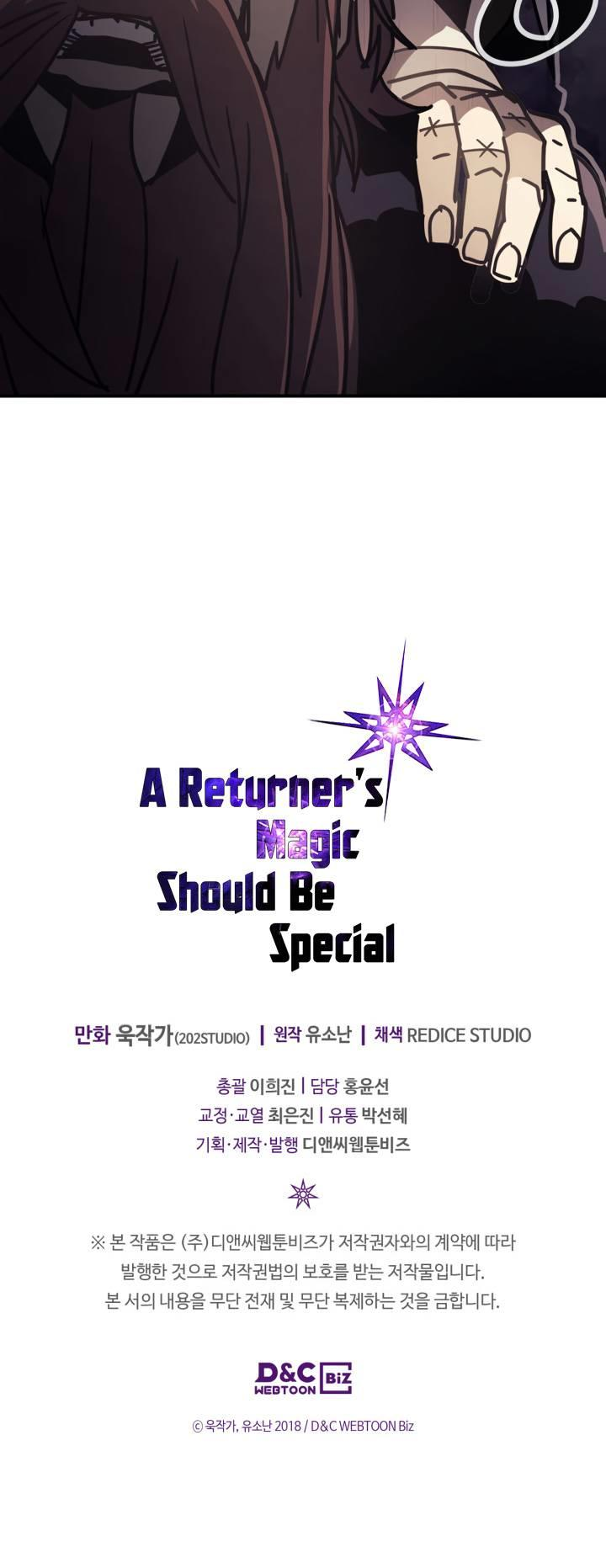 A Returner's Magic Should Be Special Chapter 137 page 19 - Mangakakalots.com