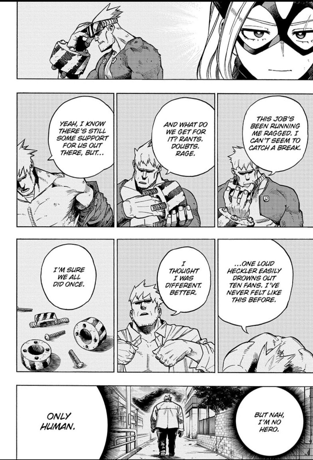 Boku No Hero Academia Chapter 317 page 4 - Mangakakalots.com