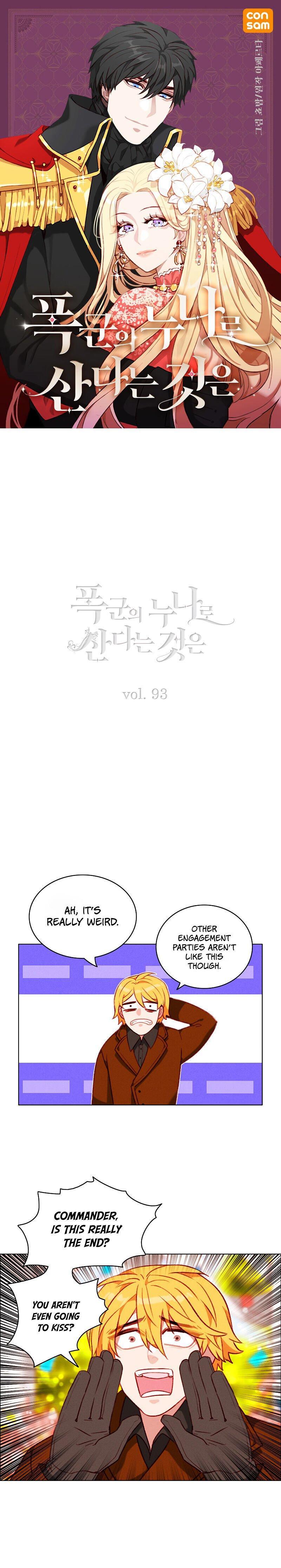 Living As The Tyrant's Older Sister Chapter 93 page 1 - Mangakakalots.com