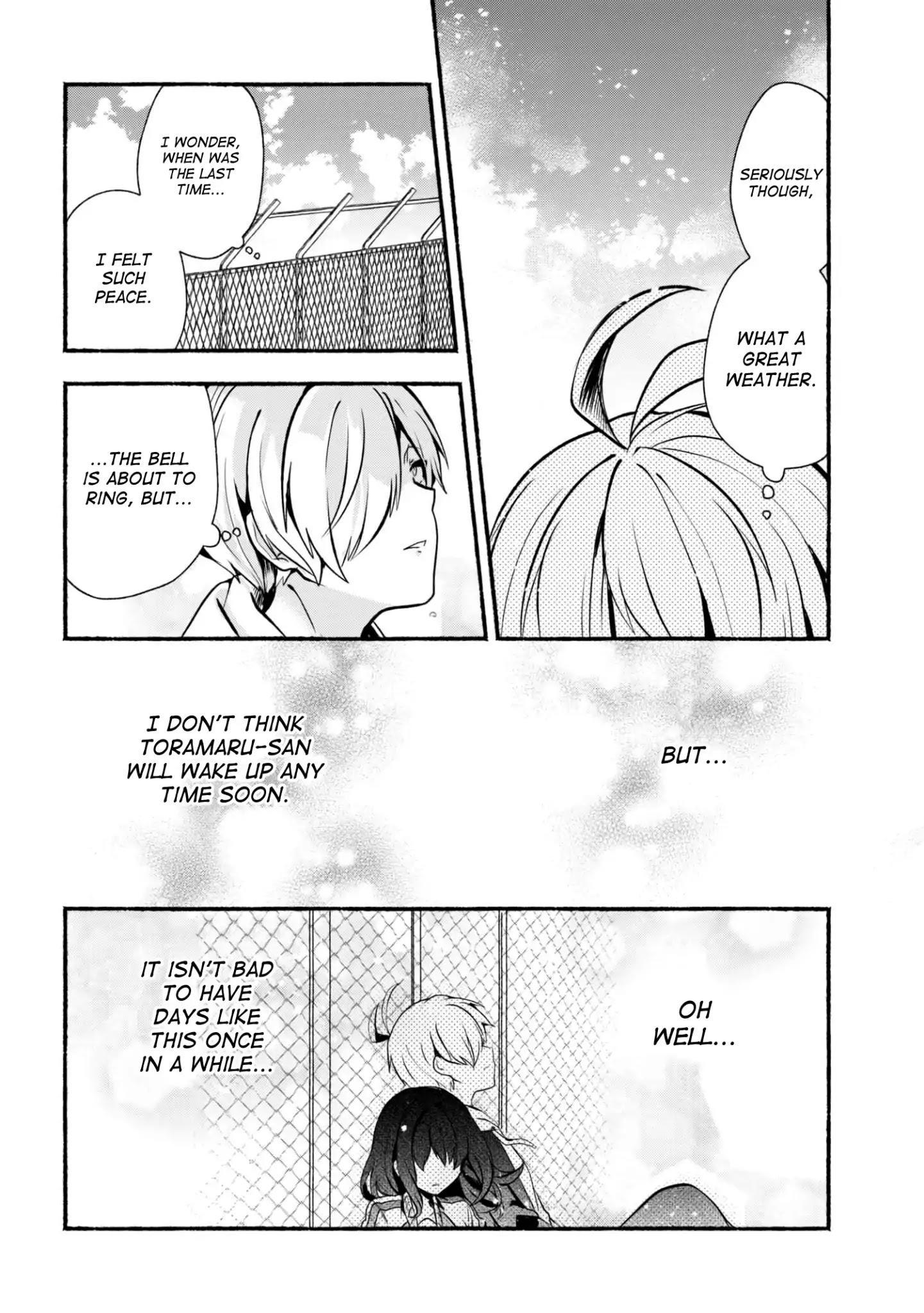 Pashiri Na Boku To Koi Suru Banchou-San Chapter 18 page 9 - Mangakakalots.com