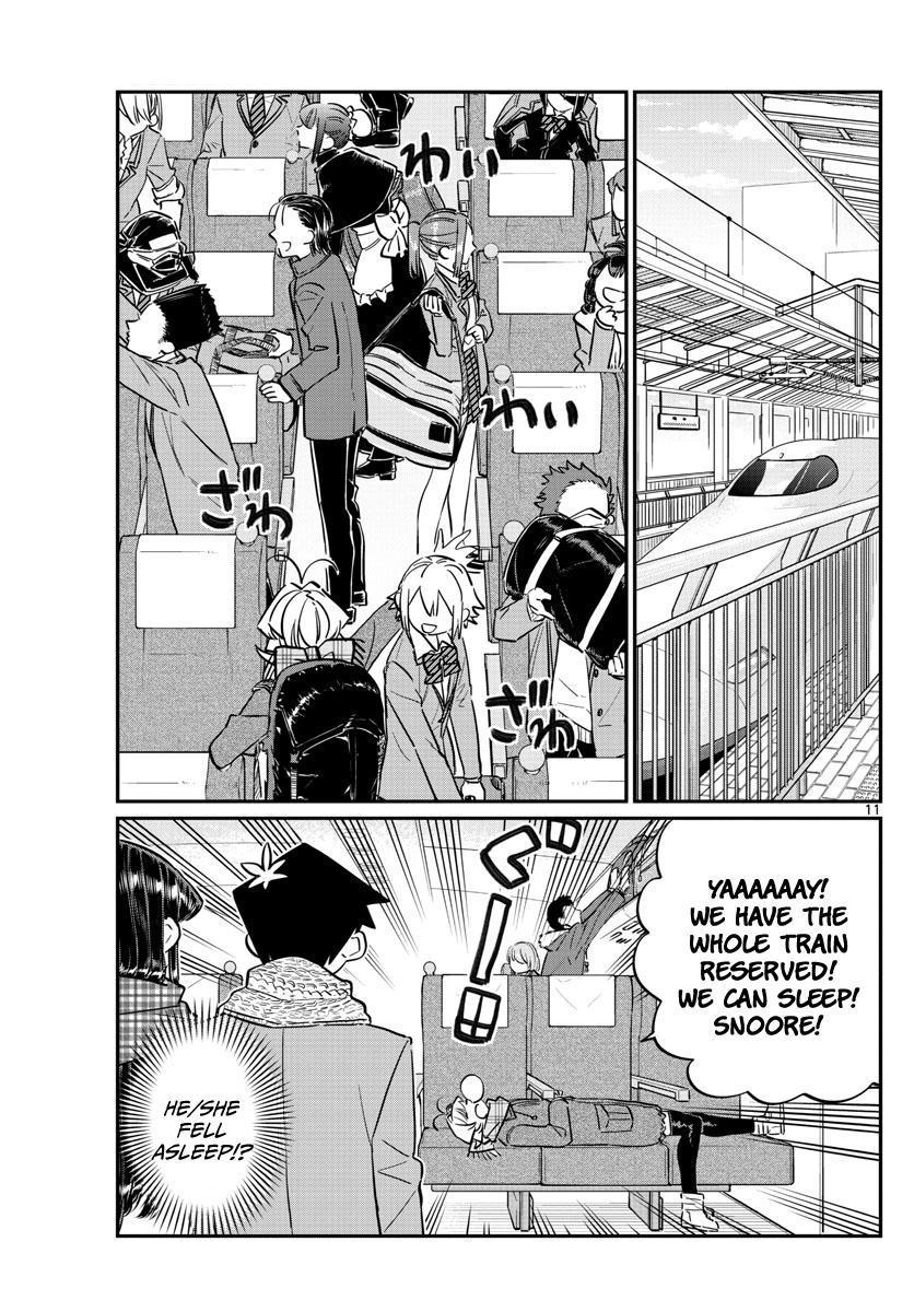 Komi-San Wa Komyushou Desu Vol.8 Chapter 104: The Field Trip page 4 - Mangakakalot