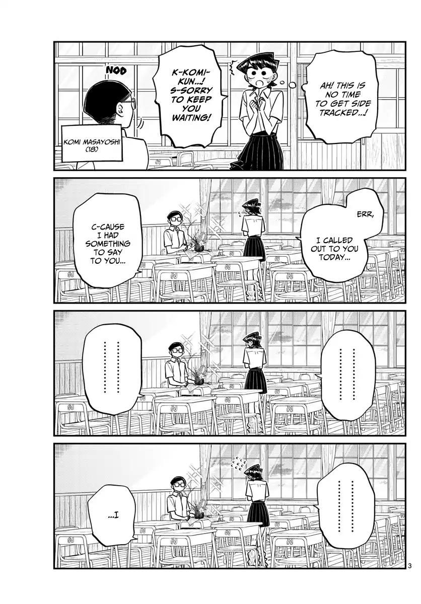 Komi-San Wa Komyushou Desu Vol.11 Chapter 153: Mom And Dad's Confession page 3 - Mangakakalot