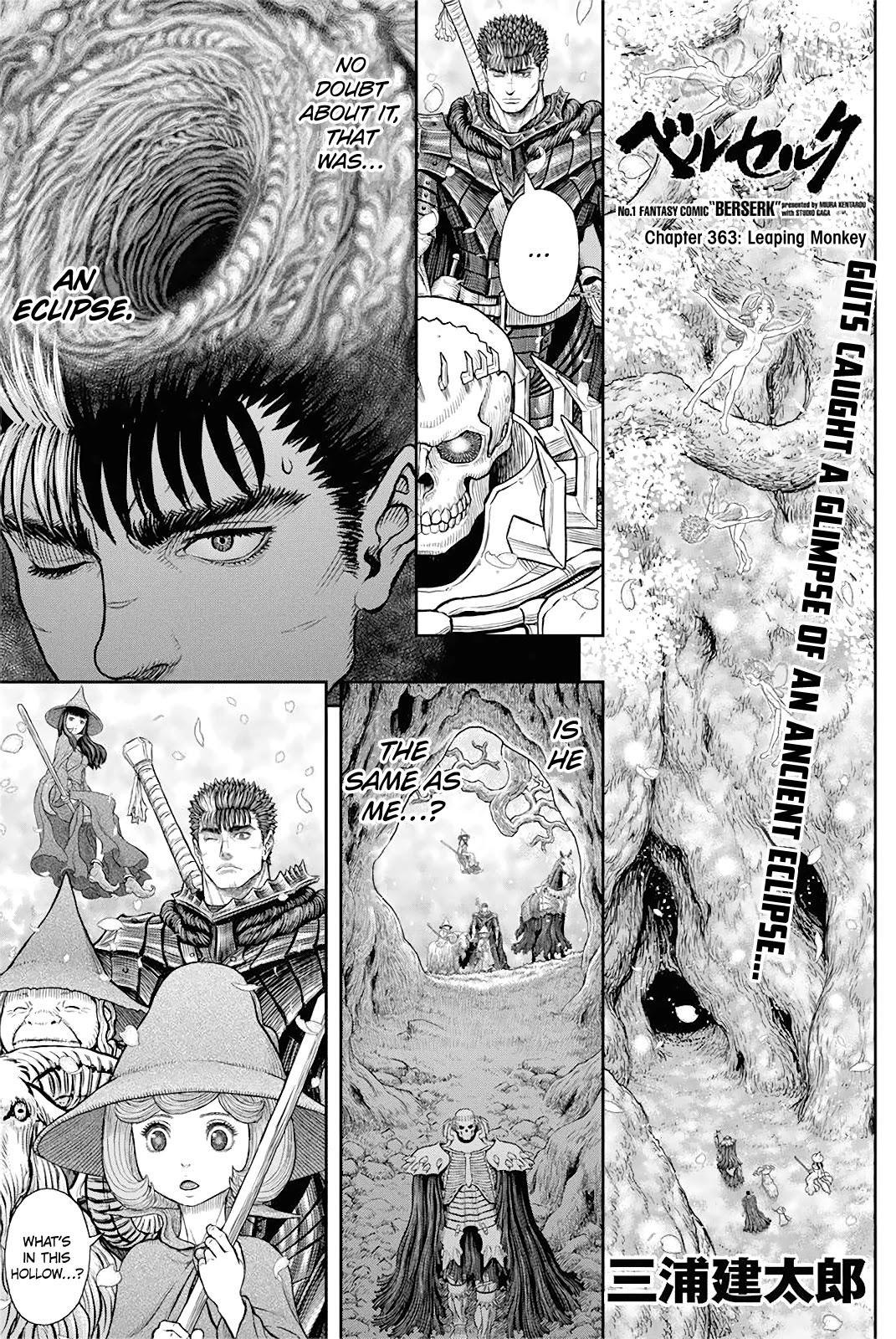 Berserk Chapter 363: Leaping Monkey page 1 - Mangakakalot