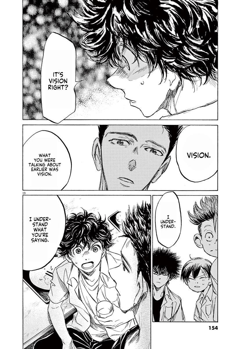 Ao Ashi Chapter 123: At Hinomaru Eatery (2) page 21 - Mangakakalots.com