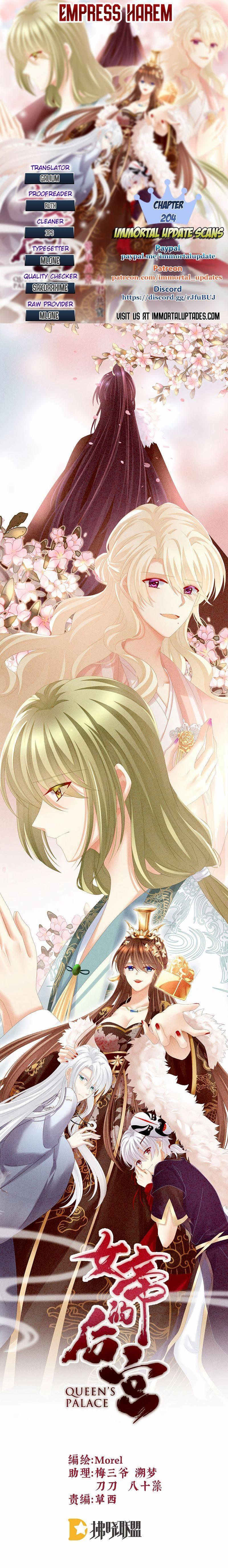 Empress's Harem Chapter 204 page 1 - Mangakakalots.com