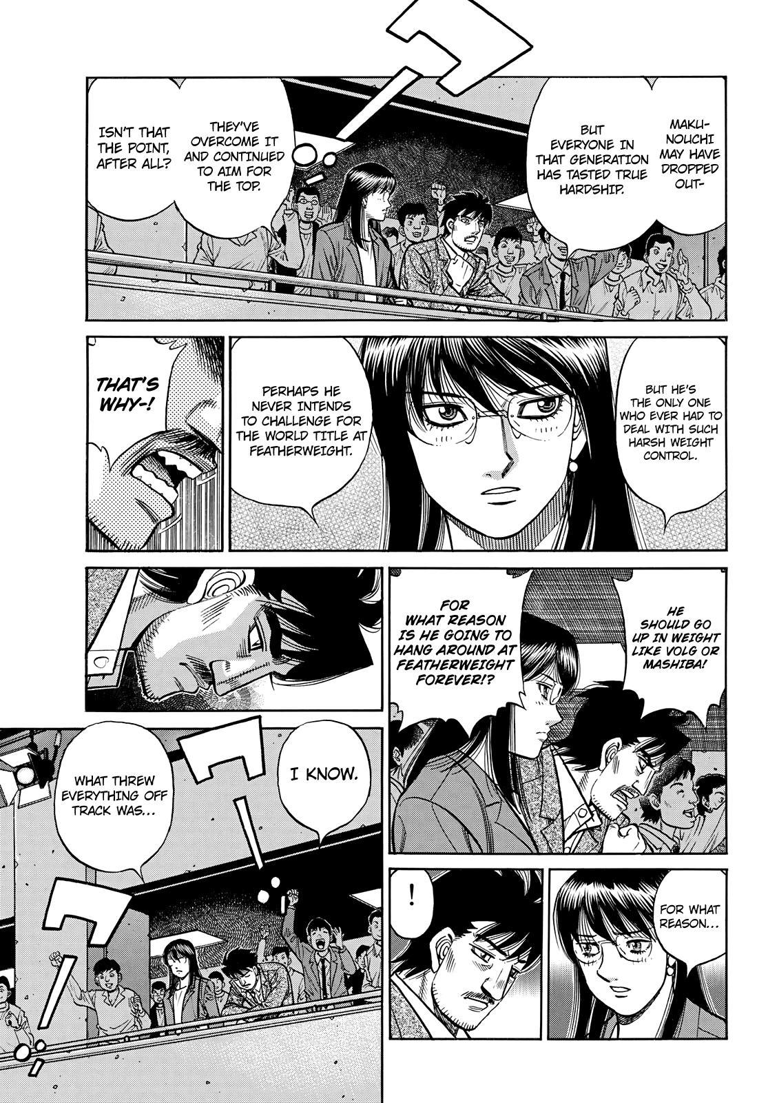 Hajime No Ippo Chapter 1351: The Makunouchi Generation page 12 - Mangakakalots.com