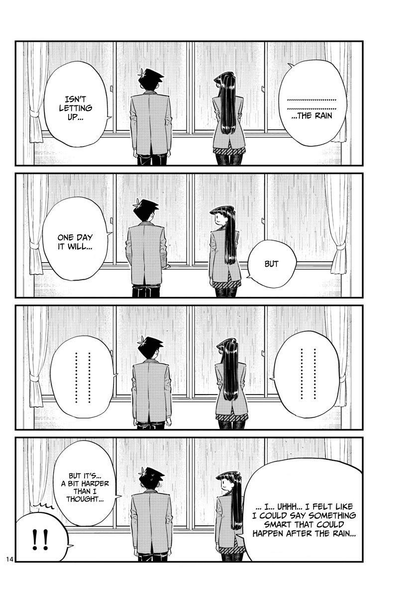 Komi-San Wa Komyushou Desu Vol.10 Chapter 129: One Year page 14 - Mangakakalot