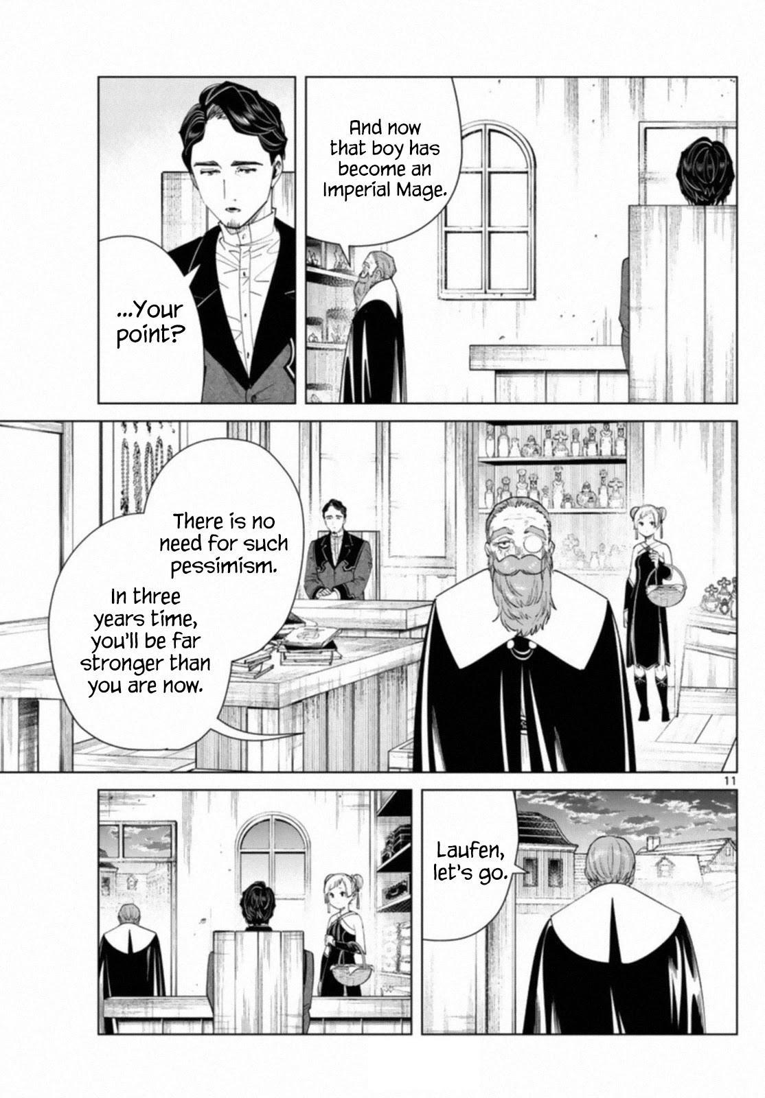 Sousou No Frieren Chapter 56 page 11 - Mangakakalots.com