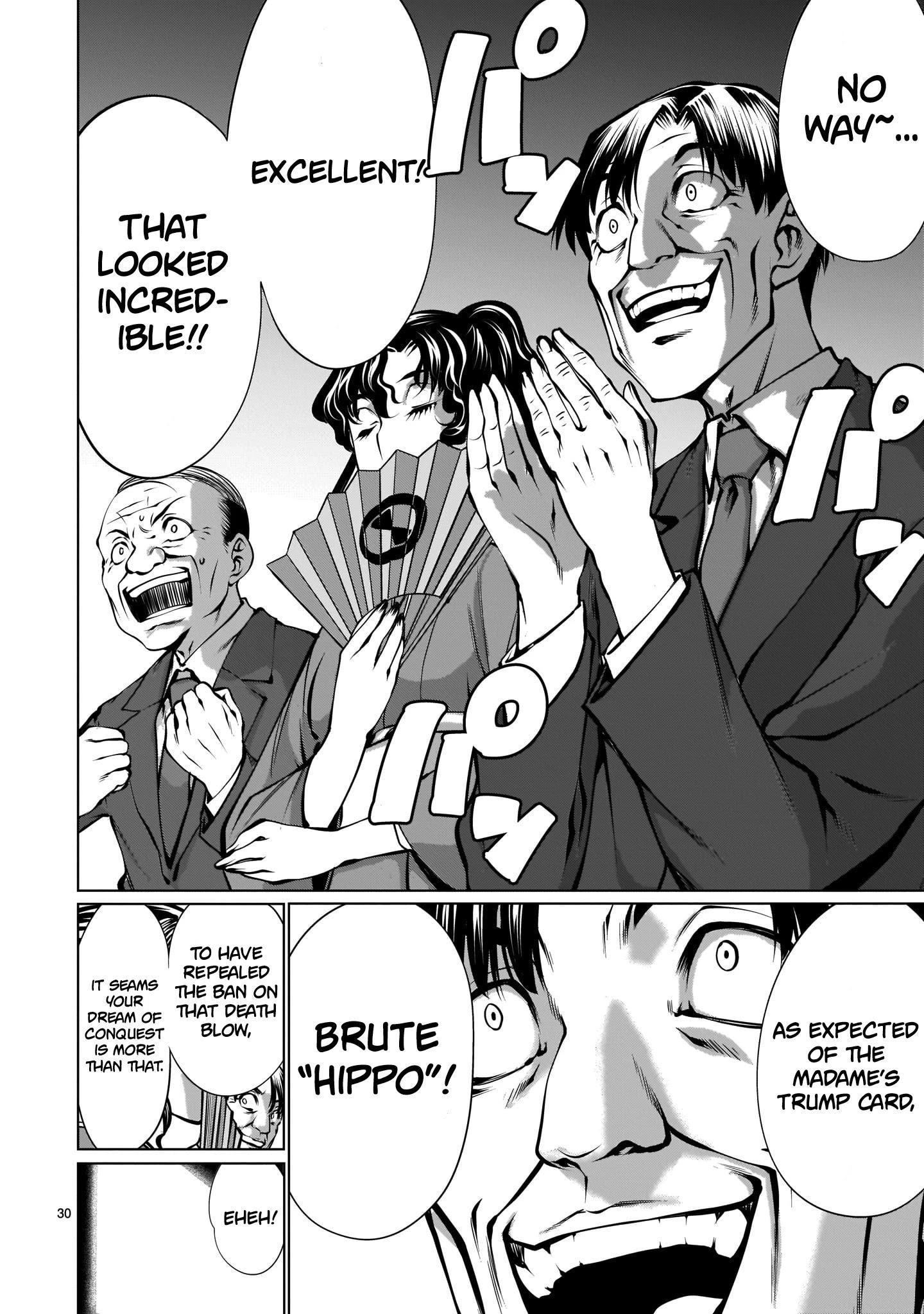 "Killing Bites Chapter 88: ""honestly, I'm Disappointed..."" page 29 - Mangakakalots.com"