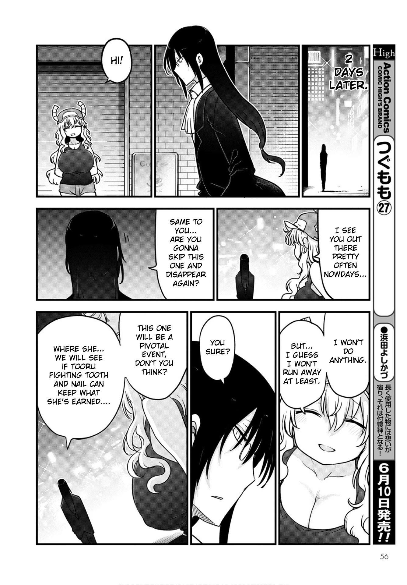 Kobayashi-San Chi No Maid Dragon Chapter 108 page 12 - Mangakakalots.com
