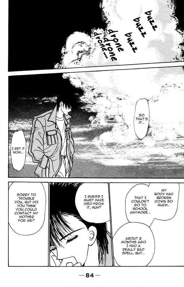 Shi To Kanojo To Boku Vol.1 Chapter 3 : I Can See...death page 30 - Mangakakalots.com