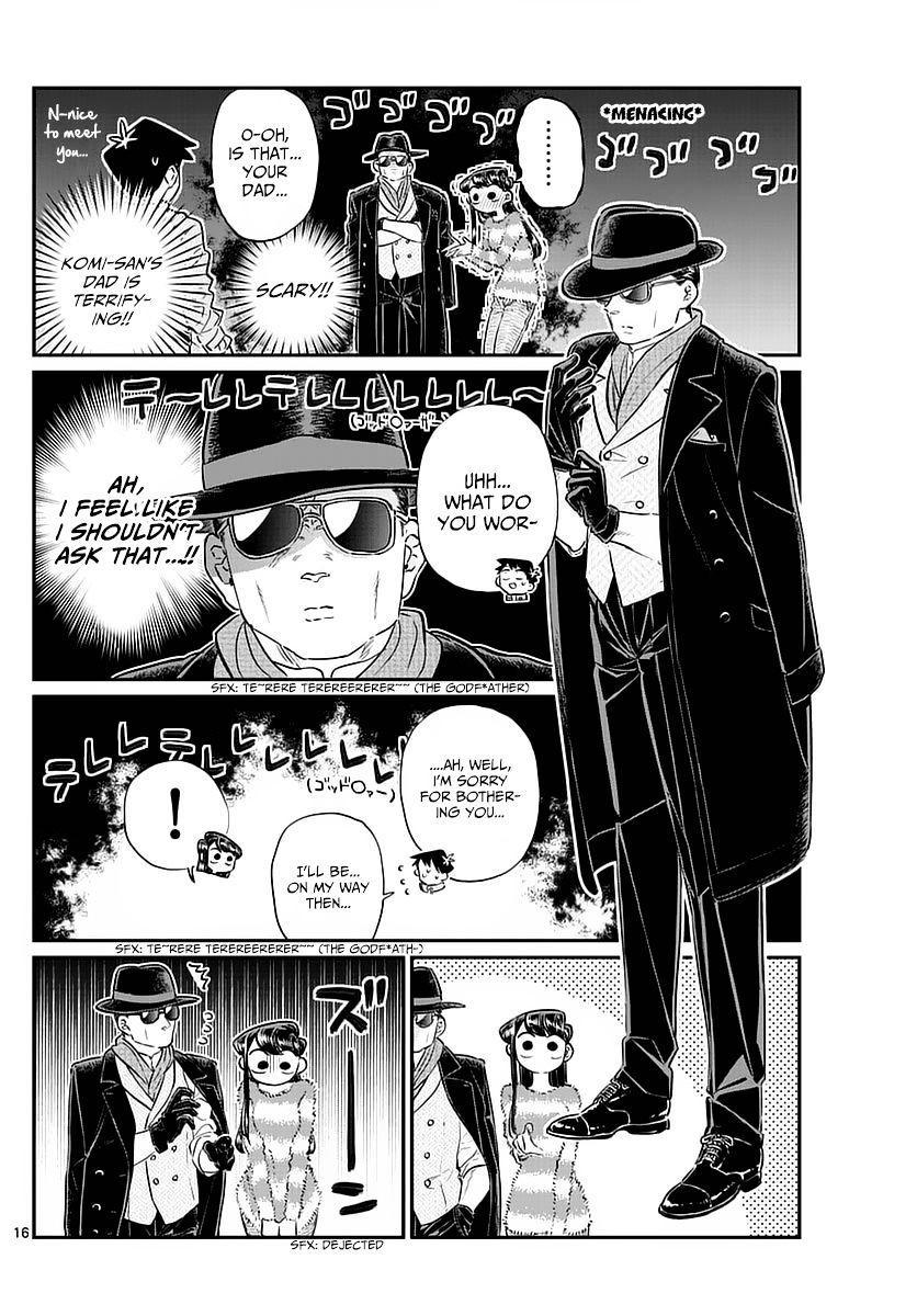 Komi-San Wa Komyushou Desu Vol.6 Chapter 74: Shopping With Dad page 16 - Mangakakalot